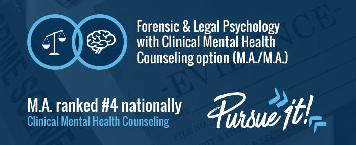 Forensic & Legal Psychology (M.A.)