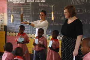 Photo Uganda classroom