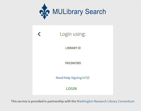 Alumni and Community Patrons MyLibrary Account