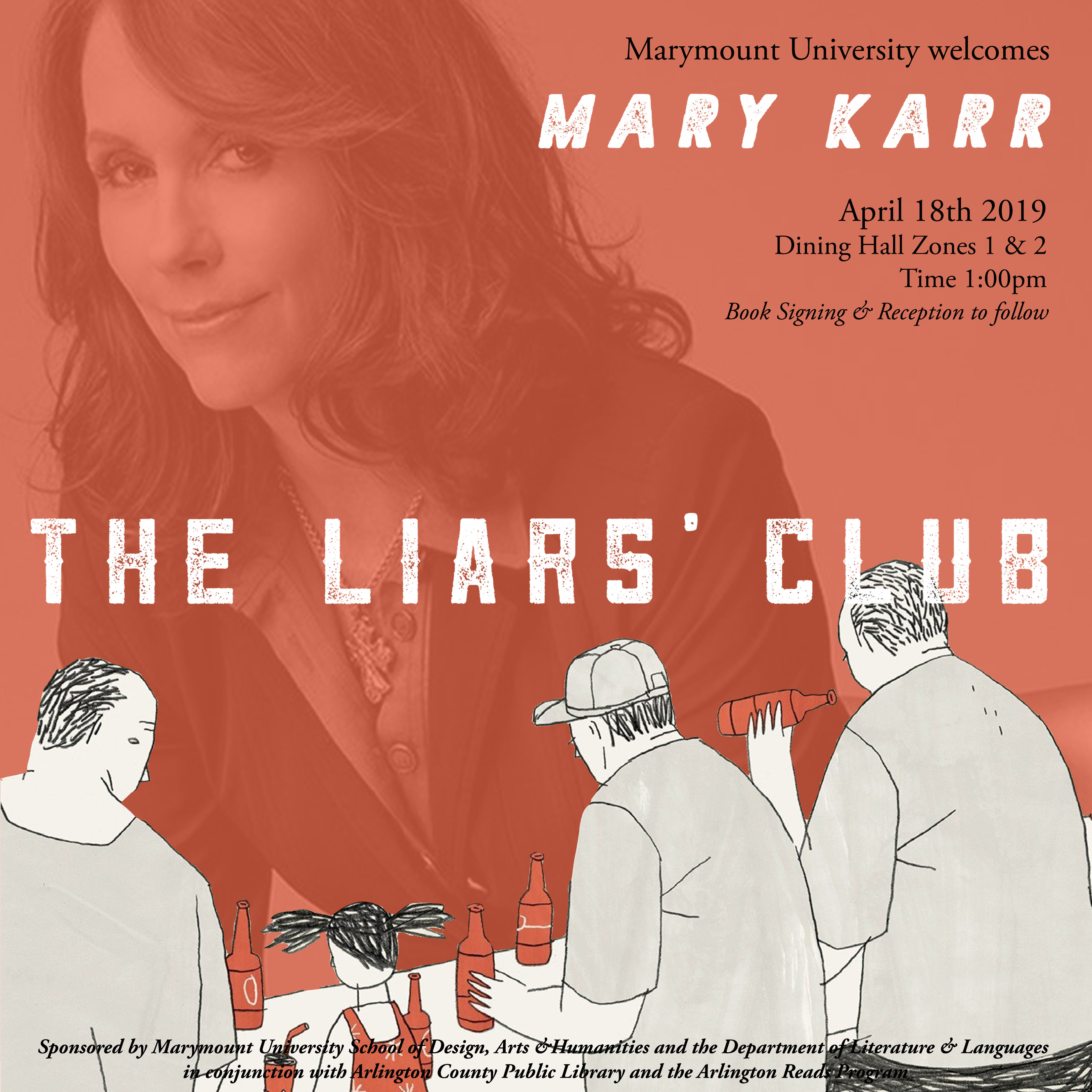 Prize-Winning Author Mary Karr Visits Marymount