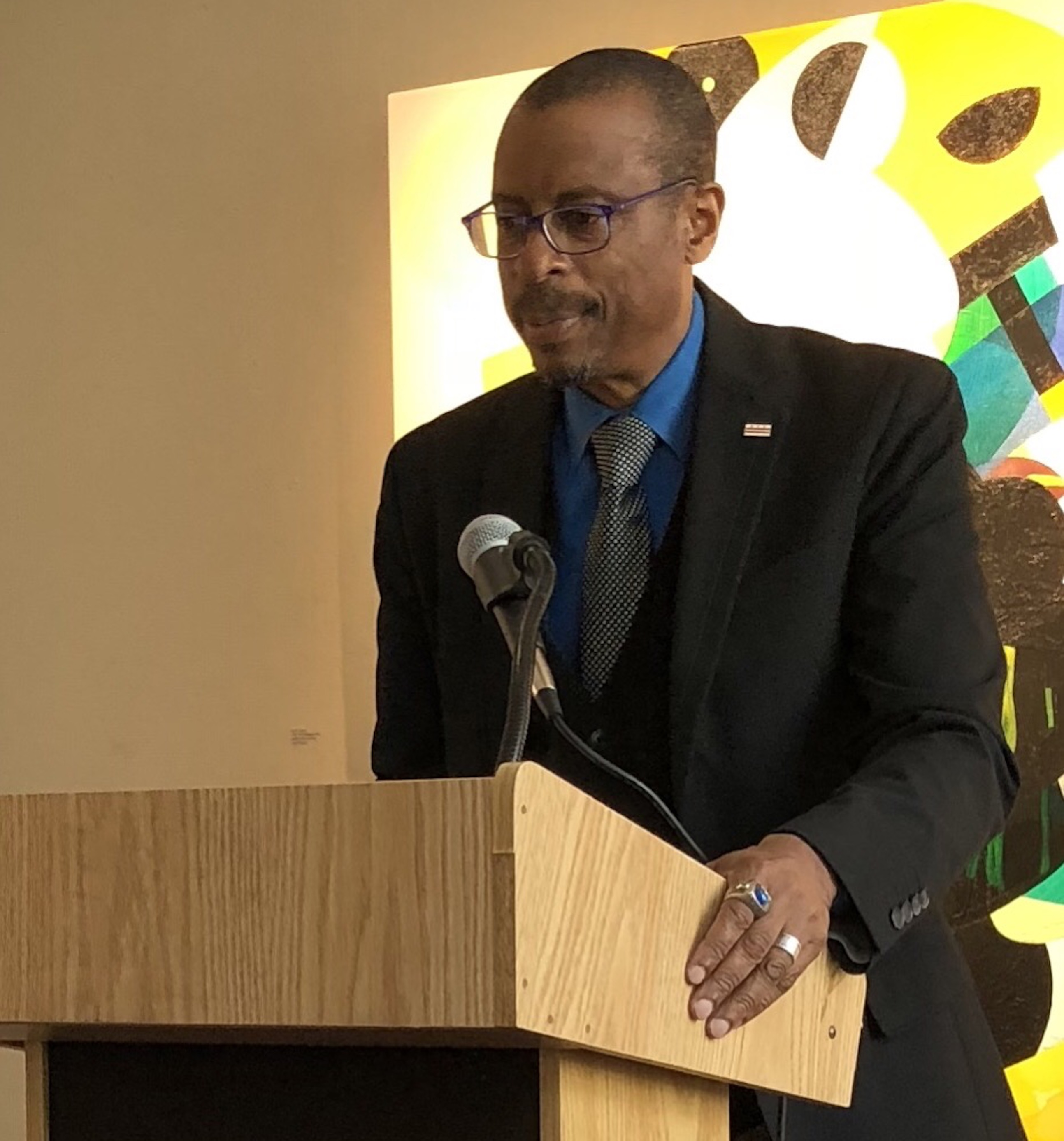 Ethelbert Miller Reads from His New Book of Poetry
