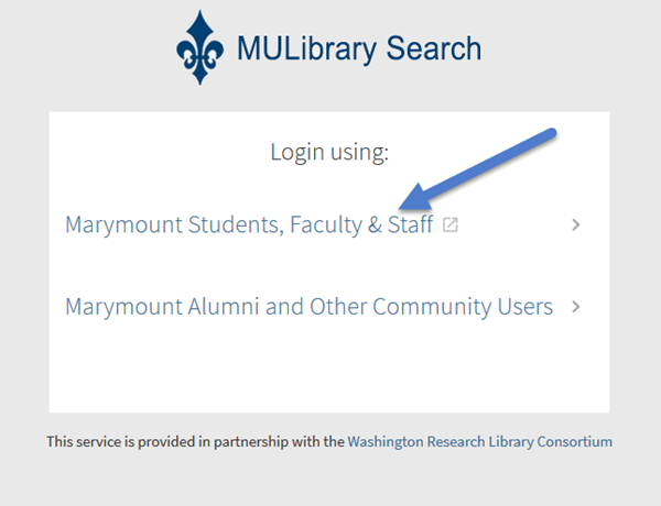 Accessing MyLibrary
