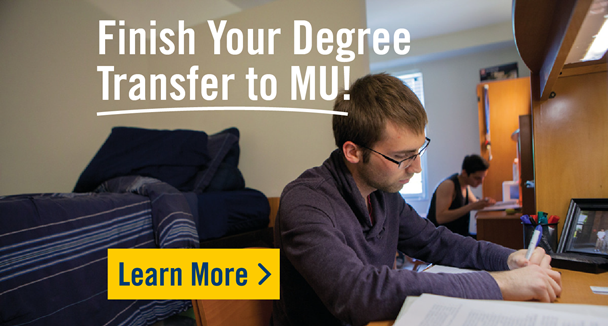 Finish Your Degree - Transfer to MU