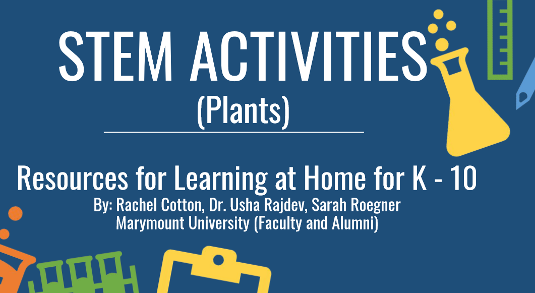 Download the fifth delivery of at home STEM Resources for learning at home for K 10