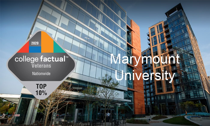 Marymount is highly ranked by <br />College Factual!