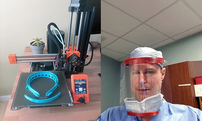 Marymount professor using 3D printing to produce face shields, fight the coronavirus pandemic