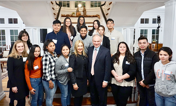 Marymount celebrates announcement of new scholarship program for DREAMer students