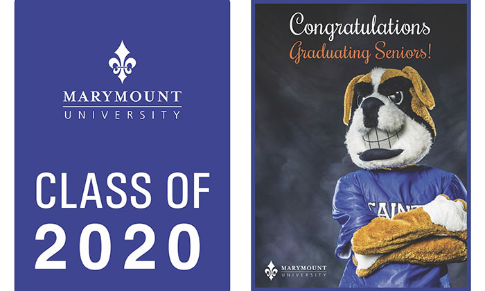 2020 Marymount graduates celebrated through University's first-ever virtual commencement ceremonies