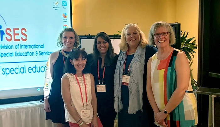 Education students present research at international conference in Jamaica