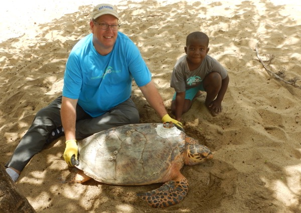 Ten Years Tracking Turtles in Belize